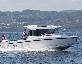 Nordisk versjon av styrehusbåt