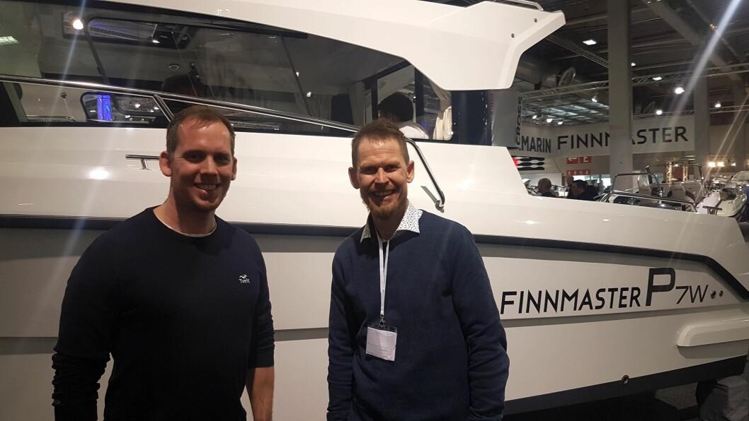 Brødrene Frode og Jarle Tveit driver Norges største båtbutikk.