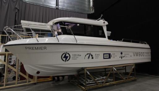 Elektrisk fiskebåt