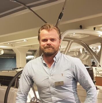 PARDO: Christian Lund har solgt første Pardo 43 i Norge.
