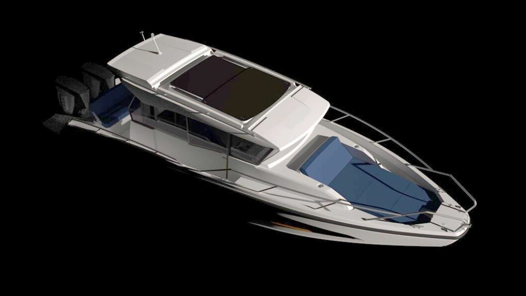 NY NORDKAPP: Coupe-båt på 9,05 meter.