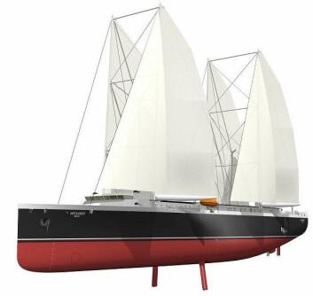 4450FOT: To mindre skip skal bygges for å teste ut konseptet. På sikt skal skipene skaleres opp.