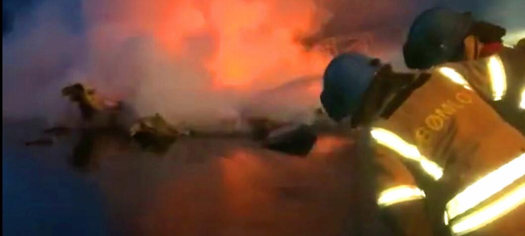 Stadig flere båter brenner