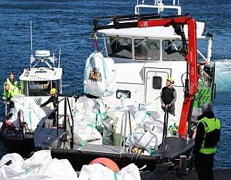 Fem millioner ekstra til kampen mot plastforurensing