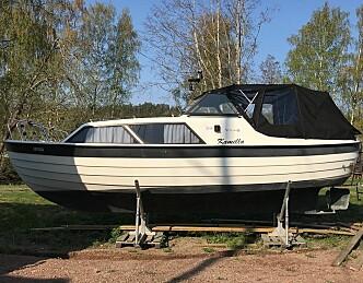 Stjal båten ti meter fra soveromsvinduet