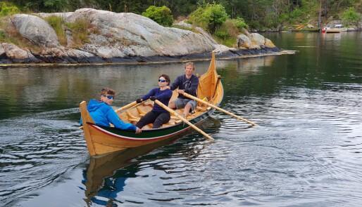 På rotur i tradisjonsrik båt
