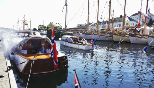 Full klaff med været for trebåtfestivalen