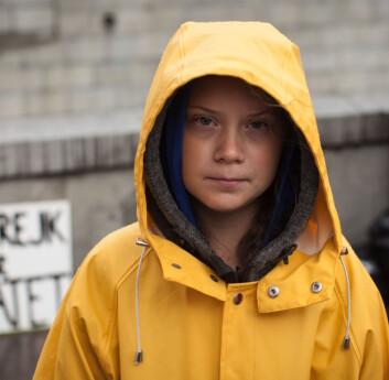 SPESIALTRANSPORT: Thunberg nekter å reise på en måte som ikke er bærekraftig. Seil ble løsningen for å krysse Atlanterhavet.
