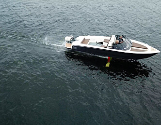 Flyvende båt med minimalt forbruk