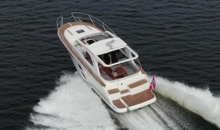 Marex 360 CC: Velkjørende, trygg og komfortabel.