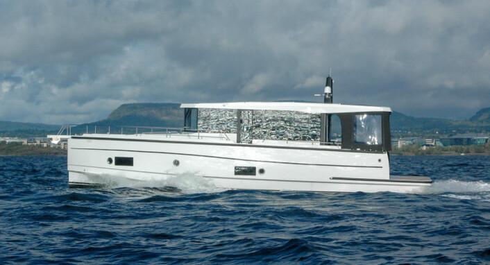 Seafaring S34: Fokus på mye plass og komfort.