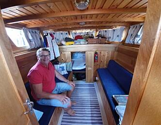 Fullførte morfars drømmebåt