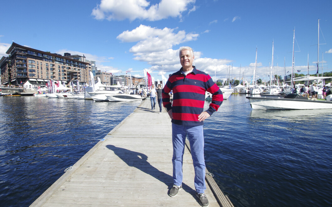 KLAR FOR NY FLYTENDE BÅTMESSE: Leif Beraas, daglig leder i bransjeorganisasjonen Norboat.