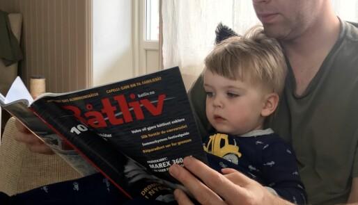 Store og små leser Båtliv