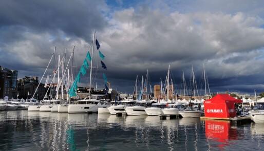 Se bildene: Første dag på Båter i Sjøen