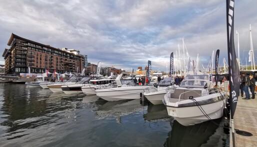 11 056 mennesker besøkte «Båter i sjøen»