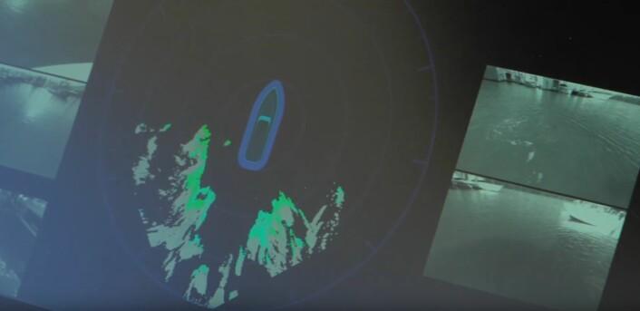 OVERSIKT: Det ligner et radarbilde, men lages av opptil fem kameraoppsett.