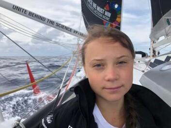 SEILER: Det blir mer komfort, men mindre fart for Thunberg på vei hjem fra USA. Bort seilte hun en IMOCA på 60-fot.