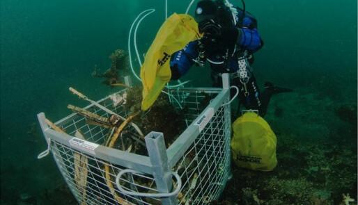 Setter fokus på forsøpling under havoverflaten