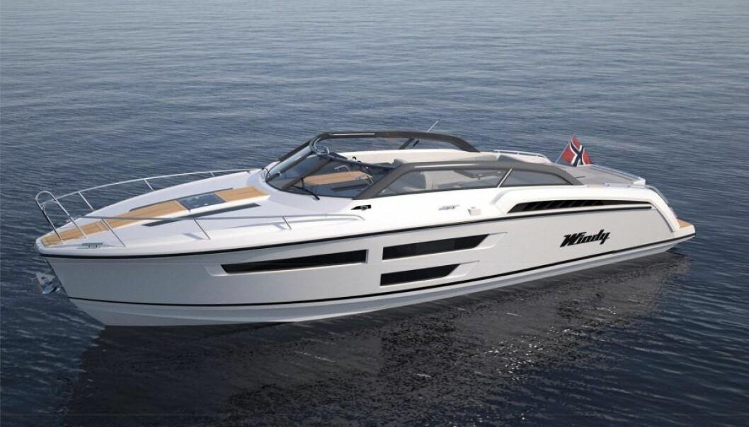 NOMINERT: Windy 37 Shamal er nominert til Årets Båt i størrelsen ti til 14 meter.
