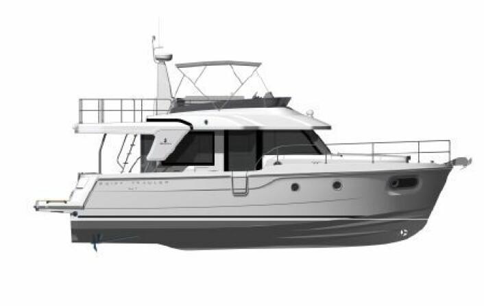 TRAWLER: Beneteau Swift Trawler 41 Fly.