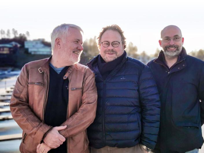 REDAKSJONEN:Fra venstre ansvarlig redaktør Ole Henrik Nissen-Lie, redaktør Atle Knutsen og redaksjonssjef Jørn Finsrud.