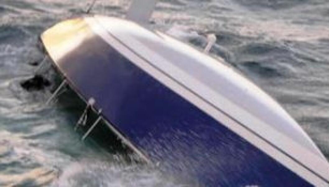 Kantring og forlis er viktigste årsak til dødsulykker med fritidsbåt