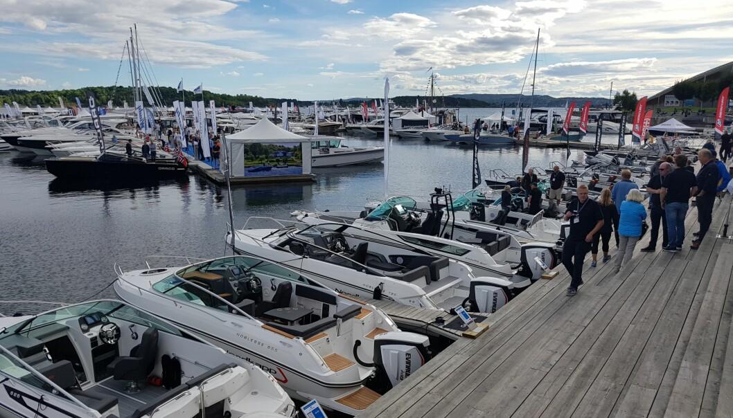 Båter i Sjøen avlyst