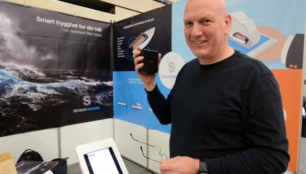 SATSER: Pål Kaperdal fyller opp kassa med friske midler og satser i USA med Sensar Marine og Smart Boat One.