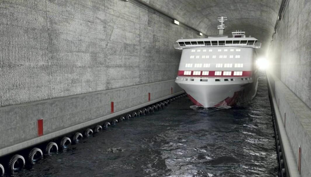 Skipstunnelen ved Stad skal stå ferdig i 2026 og vil koste 3,4 milliarder kroner