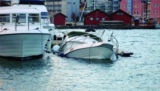 God fortøyning kan redde båten
