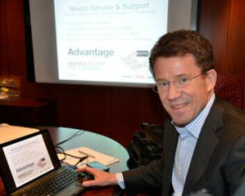 SJEF: Leif Ottoson blir lederen for Digital Marine Solutions. Han kommer fra Navico.