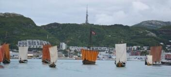 STEVNE: 170 tradisjonelle båter er samlet i Bodø.