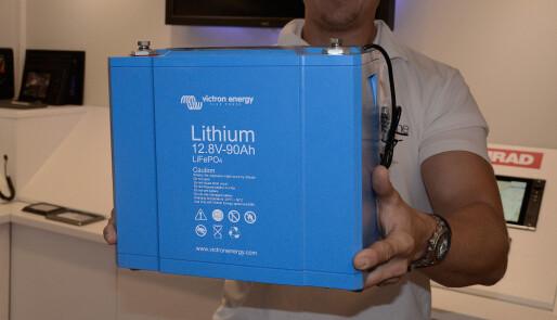 Fakta om litiumbatterier for båtbruk