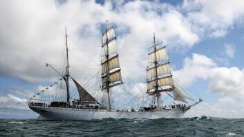STOR: «Statsraad Lehmkuhl» er Norges største seilskip.