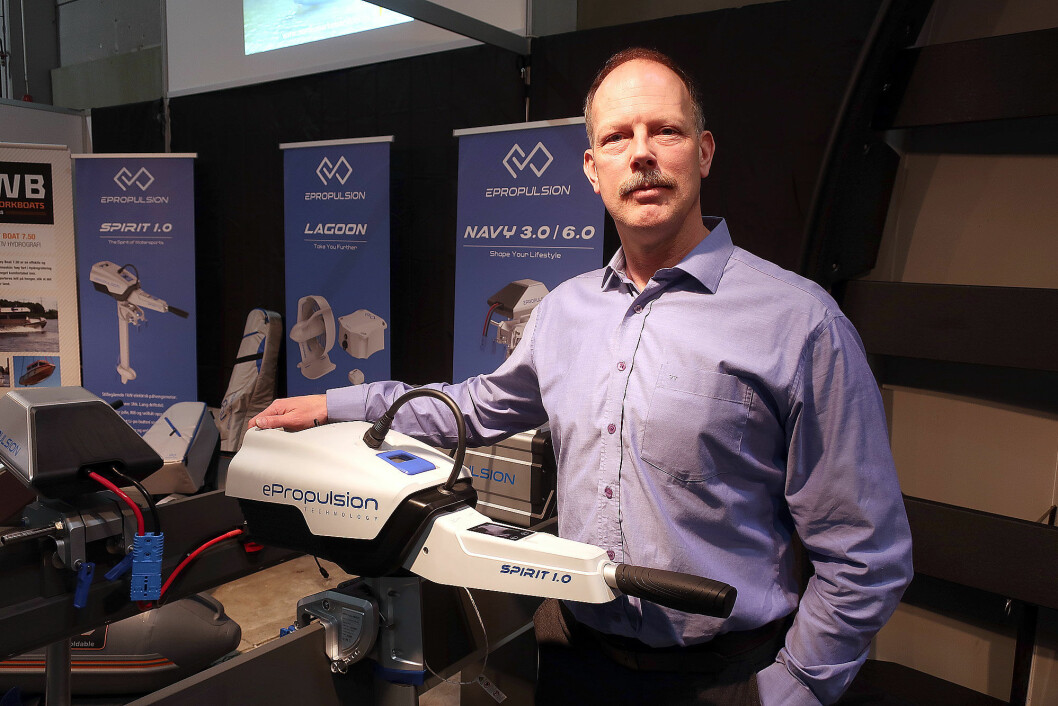 EL: Dirk John merker økt interesse for elektriske påhengsmotorer.