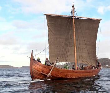 KNARR: Klågstadskipet er av typen karr, men større bredde og økt fribord som gir bedre lastevne.