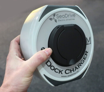 TYPE2: Med store batterier, kreves det bedre ladesystemer. SeaDrive har tatt frem system som brukes for elbiler.