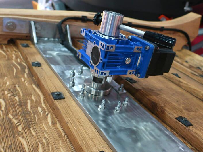 VRIBAR: Klåstadskipet får drev som kan rotere. Motorene fungerer også som Thrustere.