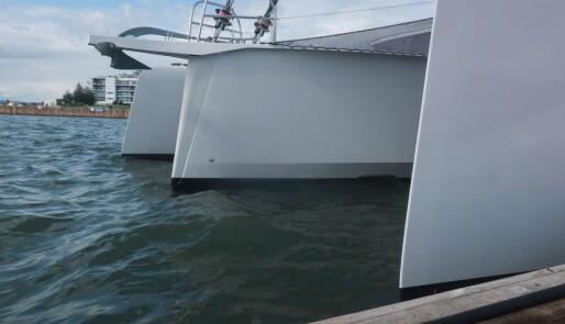 Messens mest oppsiktsvekkende båt