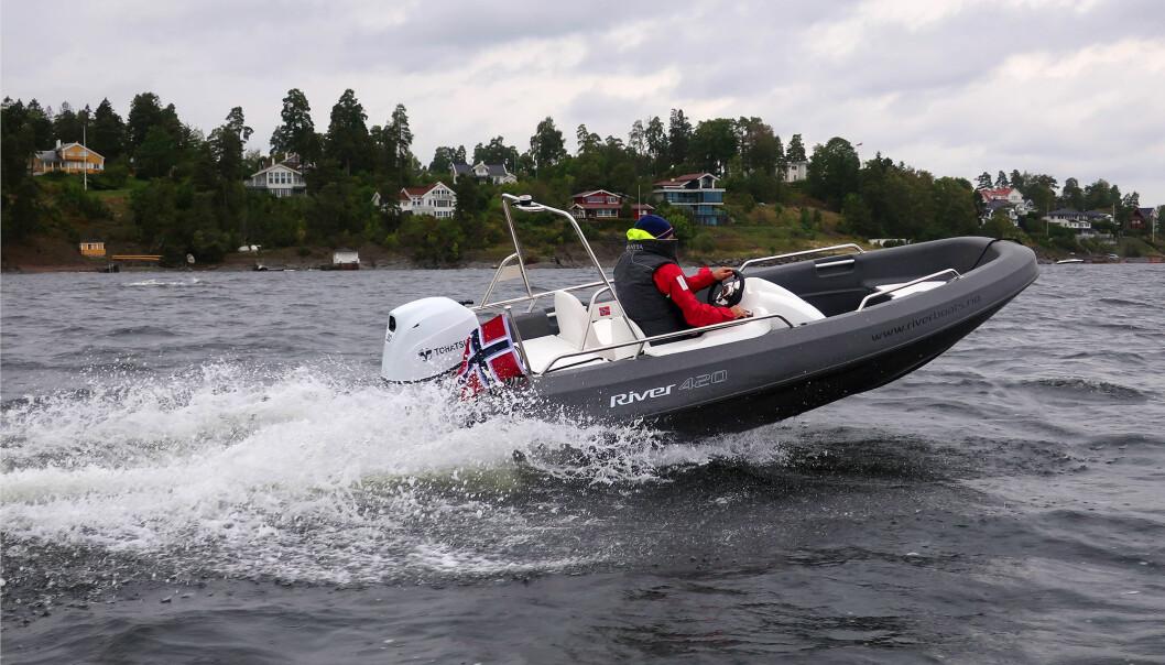 UNGDOM: Med River-båtene satser Rotostøp på stabile og vedlikeholdsfrie båter for ungdommen