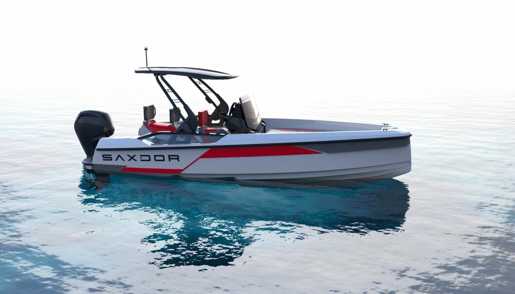 SAXDOR: Miks av vannscooter og båt.