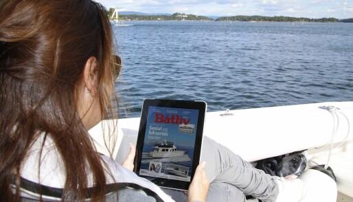 Dobling av lesere på nett