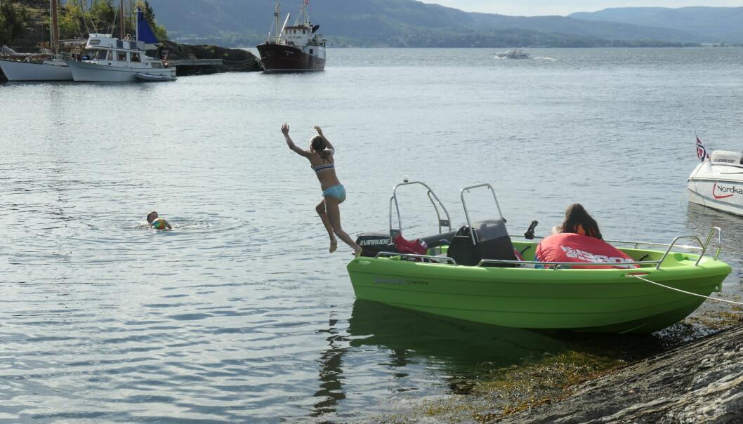BÅT: Mange ungdommer drømmer om egen båt.