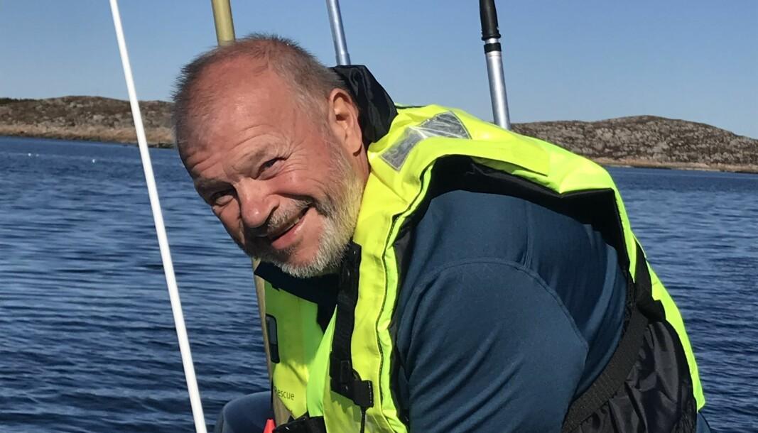 HOBBYFISKER: Bjarne Håkon Hanssen er en ivrig hobbyfisker. Men båtkjøpet i fjor ble et mareritt.