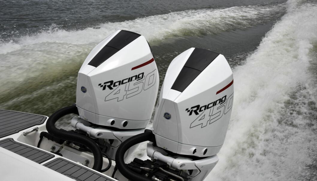 REKORDSALG: Mercury er å finne på hekken på stadig flere båter, og setter nye rekorder i det norske markedet i år