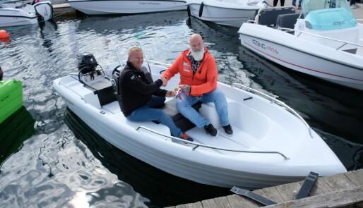 Ga Kirkens Bymisjon  fri båt og drivstoff