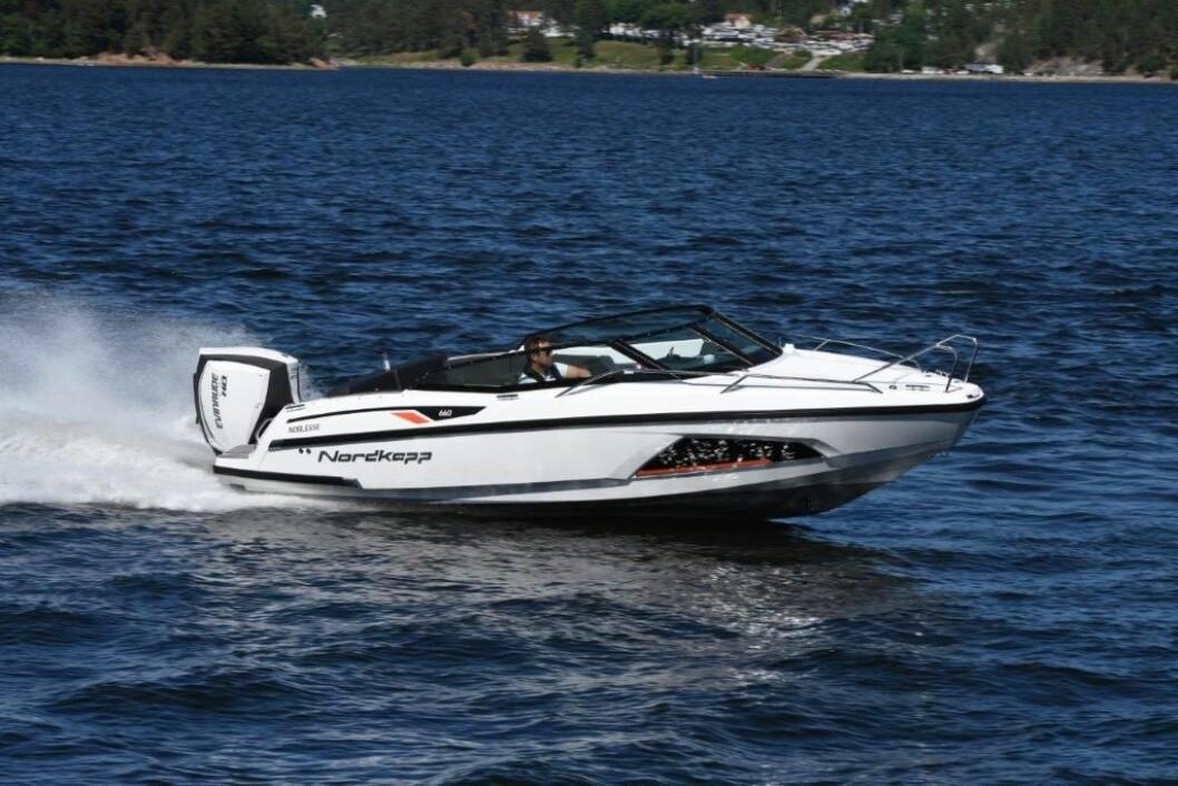 GODT VALG: Nordkapp Noblesse 660 er kåret til European Powerboat of the year.