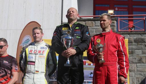 Frode Sundsdal ble tysk mester i Formel 2