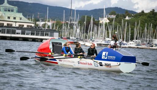 Første norske kvinner i robåt over Atlanteren?